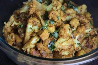 अालु गोभी सूखी सब्जी Aloo Gobhi sukhi Sabji
